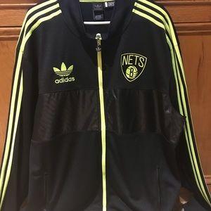 Brooklyn Nets Adidas basketball Jacket